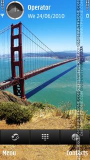 Golden Gate theme screenshot