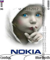 Nokia Kinder theme screenshot