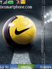 Nike Ball 02 theme screenshot