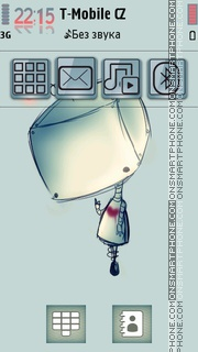 7Robot theme screenshot