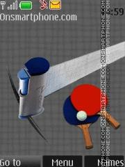 Table Tennis 01 es el tema de pantalla