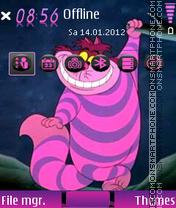 Cheshire 01 es el tema de pantalla