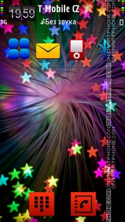 Colorful 11 theme screenshot