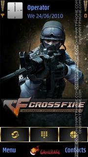 CrossFire theme screenshot