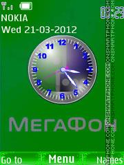 Megafon es el tema de pantalla