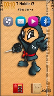 T7 ninja theme screenshot