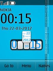 Blue New Style theme screenshot