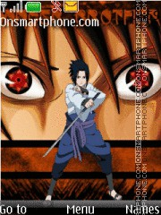 Sasuke Sharingan theme screenshot