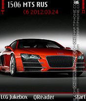 Audi-R8 es el tema de pantalla