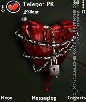 Hurted Heart es el tema de pantalla