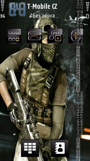 Recon theme screenshot