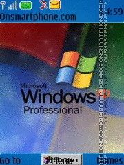 Windows XP es el tema de pantalla