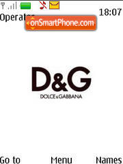 Dolce Gabbana 01 es el tema de pantalla