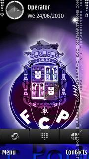 FC Porto theme screenshot