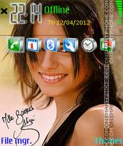 Alizee 03 es el tema de pantalla