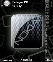 Shine Nokia theme screenshot