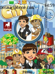 City Ville theme screenshot