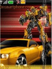 Bumblebee Transformers es el tema de pantalla