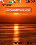 Sunset 02 es el tema de pantalla