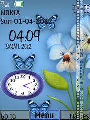Butterfly Dual theme screenshot