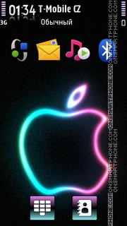 Colorful Apple theme screenshot