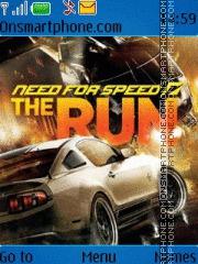 Need For Speed The Run theme screenshot