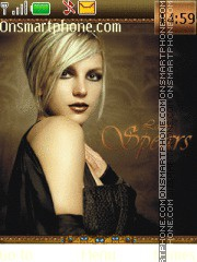 Britney Spears 27 theme screenshot