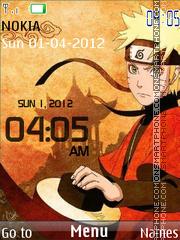Sage Naruto Clock es el tema de pantalla