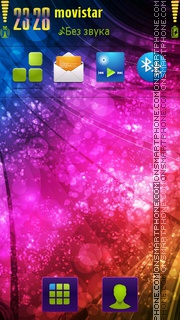 Color Splash 03 theme screenshot