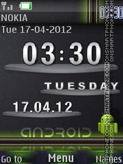 Android SWF Theme theme screenshot