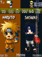 Naruto Clock 01 es el tema de pantalla