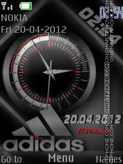 Capture d'écran Adidas thème