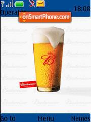 Budweiser es el tema de pantalla