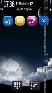 Good Night Licky theme screenshot