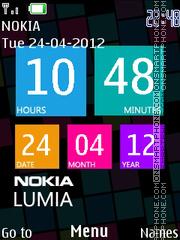 Nokia Lumia es el tema de pantalla