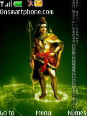 Lord Shiva 03 theme screenshot