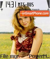 Emma Watson 02 es el tema de pantalla