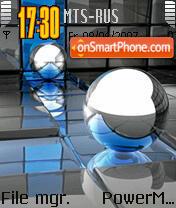 Abstract Sphere theme screenshot