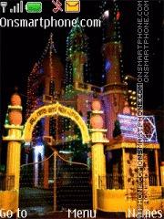 Mosque House of Allah theme screenshot