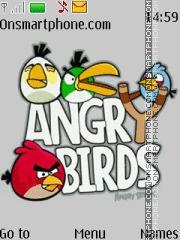 Angry Birds Team theme screenshot