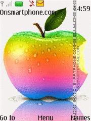 Colorful Apple 01 theme screenshot