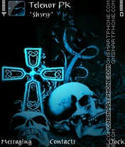 Dead theme screenshot
