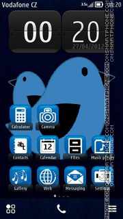 Birds 07 theme screenshot