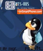 Tux And Bsd theme screenshot