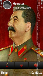 Stalin theme screenshot