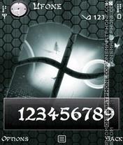 Digital Windows theme screenshot