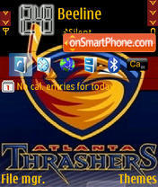 Atlanta Thrashers es el tema de pantalla