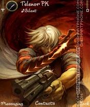 Devil May Cry theme screenshot