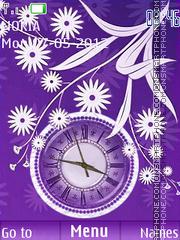 Purple Abstract theme screenshot