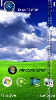 Windows 7 tema screenshot